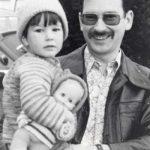 1976Dr. Karl Gretzer mit Tochter Julia