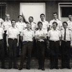 1972Karl Gretzer (oben rechts) bei der Bundeswehr