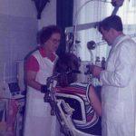 1977Frl. Heckmann war 38 Jahre lang Helferin in unserer Praxis