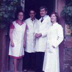 1973Karl Gretzer als Assistent in der väterlichen Praxis